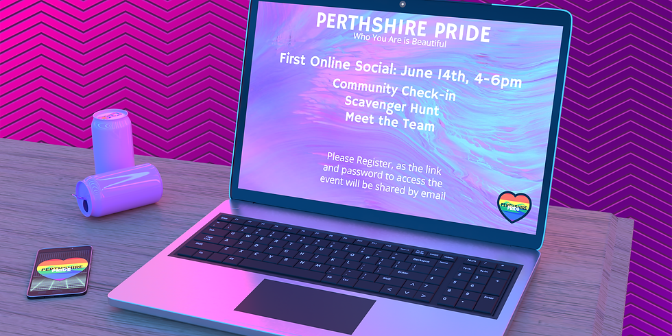 Perthshire Pride's First Online Social