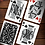 Thumbnail: Tulip Playing Cards - Black