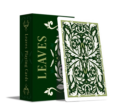 Leaves Playing Cards - Spring Edition