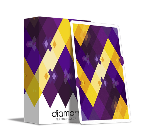 Diamon Playing Cards N°14