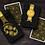 Thumbnail: Paisley Playing Cards - Magical Gold