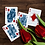 Thumbnail: Tulip Playing Cards - Dark Blue