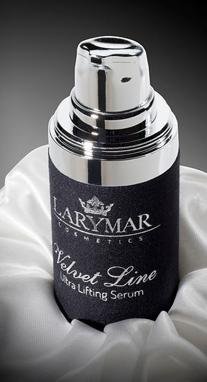 serum anti aging  anti age luxury exclusive larymar cosmetics velvet line made in italy