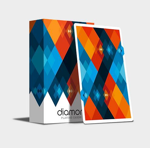Diamon Playing Cards N°12