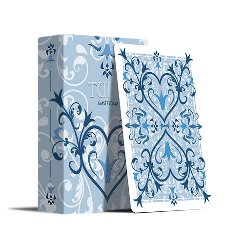 Tulip Playing Cards - Light Blue
