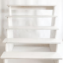 Cupcake Stairs Rustic White