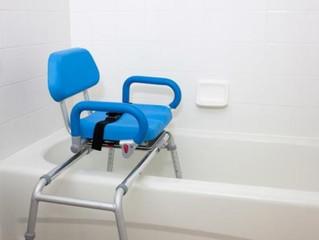 SANSUBA® : le seul siège de bain qui pivote et coulisse
