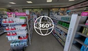 Visite Virtuelle Servian : Pharmacie Bastide