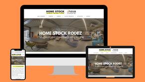 Site Internet Vitrine : Home Stock Rodez