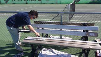 ça bosse au Tennis !
