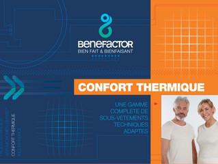 Benefactor : gamme de sous-vêtements techniques adaptés
