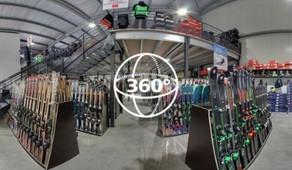 Visite Virtuelle Sète : Ski Discount