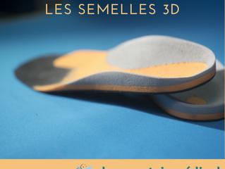 ☀️Du nouveau en podologie au Comptoir Médical : les Semelles 3D