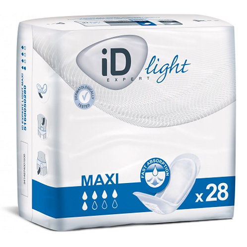 ID LIGHT MAXI EXPERT - Protections anatomiques femmes