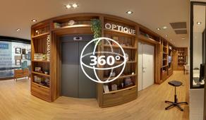 Visite Virtuelle Toulouse : Optique Viasanté