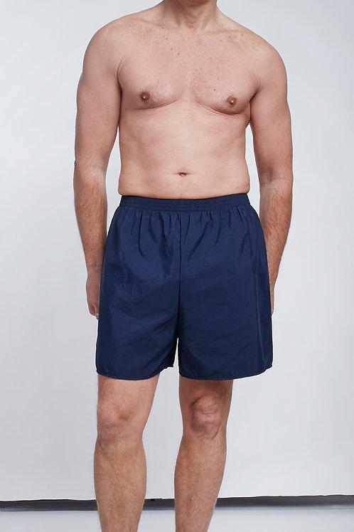 Short de bain marine homme