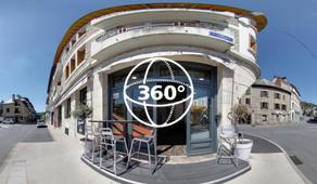 Visite Virtuelle Espalion : Restaurant Le Flore