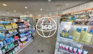 Visite Virtuelle Saint-Thibéry : Pharmacie
