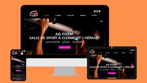 Site Internet Vitrine : AG FORM Clermont l'Hérault