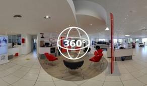 Visite Virtuelle Carcassonne : Toyota