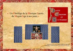 FLORILEGE MUSIQUE SACREE