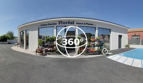Visite Virtuelle Pézenas : Floreal REY
