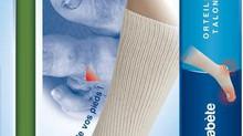 Nouveau : Chaussettes pour pieds diabétiques