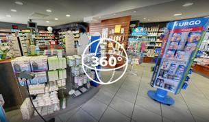 Visite Virtuelle Pézenas : Pharmacie Centrale