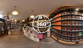 Visite Virtuelle Rodez : Cafés Ruthéna