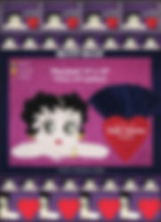 Unique Betty Boop Placemat pattern with napkins - Appliqué - Quilt - Collection Inedith