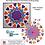 Thumbnail: Le Mandala de Nelson - Appiqué avec design de piqué libre