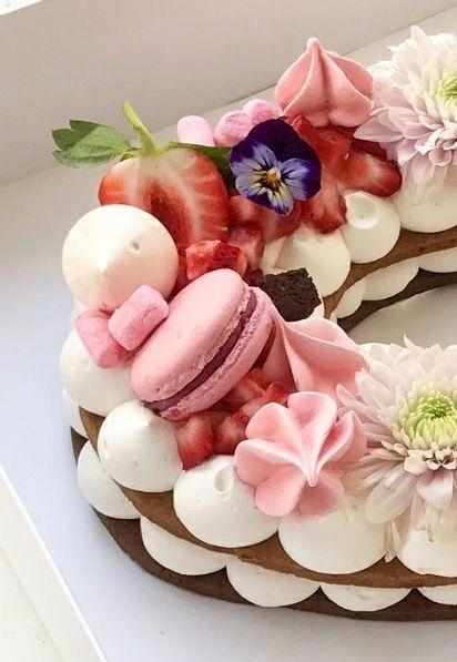 Letter cake 2H30