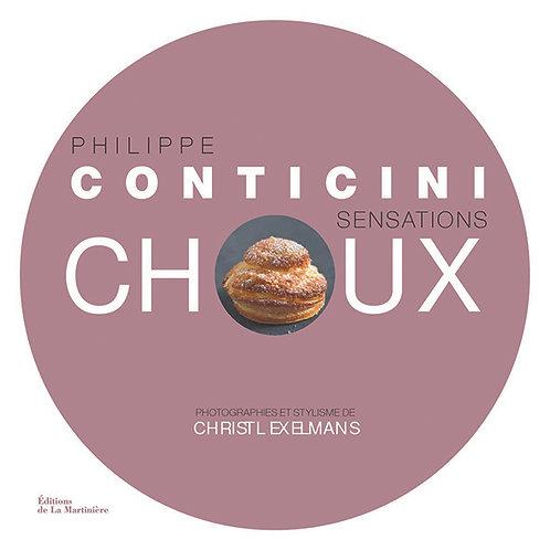 """Livre """"Sensations Choux"""" de P. Conticini"""