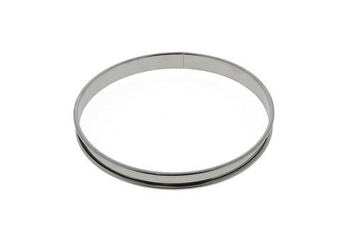 CERCLE A TARTE INOX de 20 cm H 2 cm