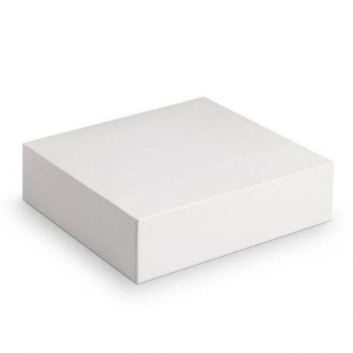 Boîte à gâteau blanche  20x20x5 cm