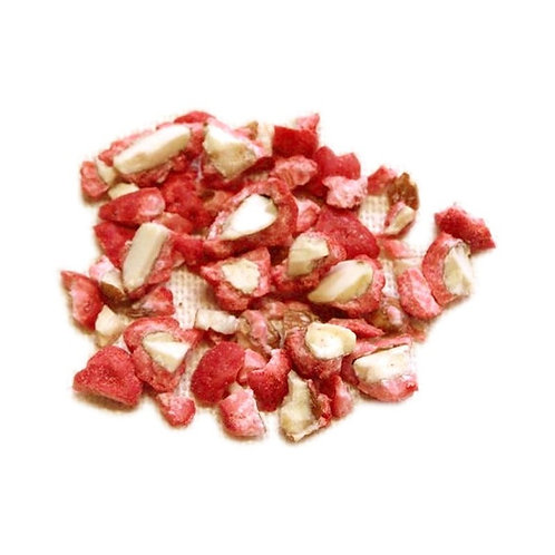 Pralines rouges concassées aux amandes - 200 g