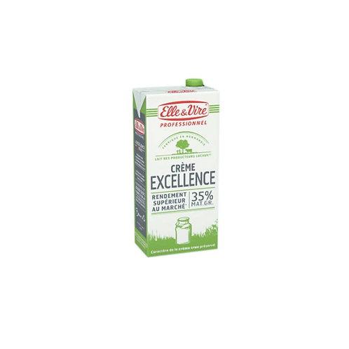 Crème liquide 35% M.G. - 1L