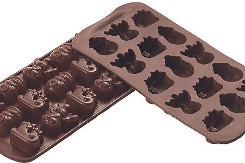 Plaque EASY CHOC CHOCOWINTER - SILIKOMART