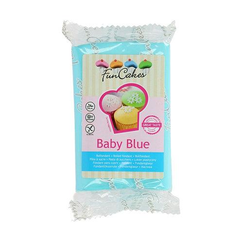 FUNCAKES PÂTE A SUCRE - BABY BLUE - 250 g