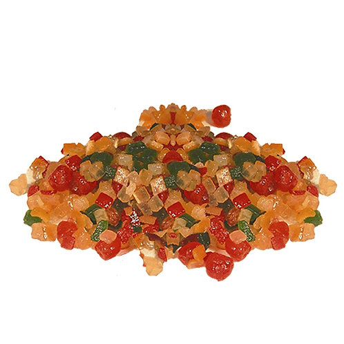 Macédoine de fruits confits - 200 g
