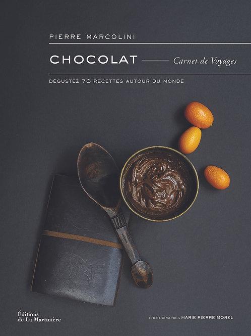 """Livre """"Chocolat - Carnet de Voyages"""" de P. Marcolini"""