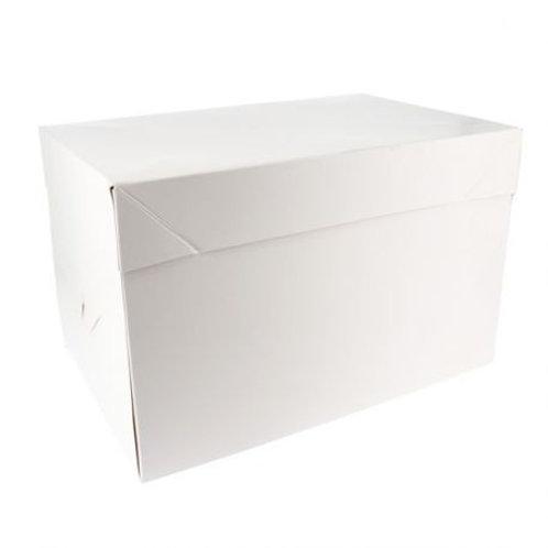 Boîte à gâteau blanche  31x41x22 cm