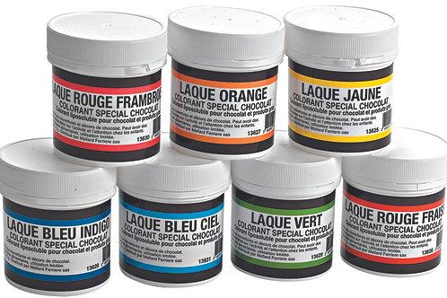 Colorant chocolat liposoluble 15 g - ROUGE FRAMBOISE