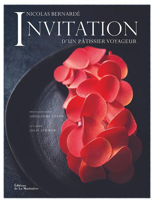 """Livre """"Invitation d'un pâtissier voyageur"""" de N. Bernardé"""
