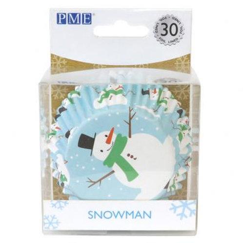 CAISSETTES NOEL SNOWMAN /30