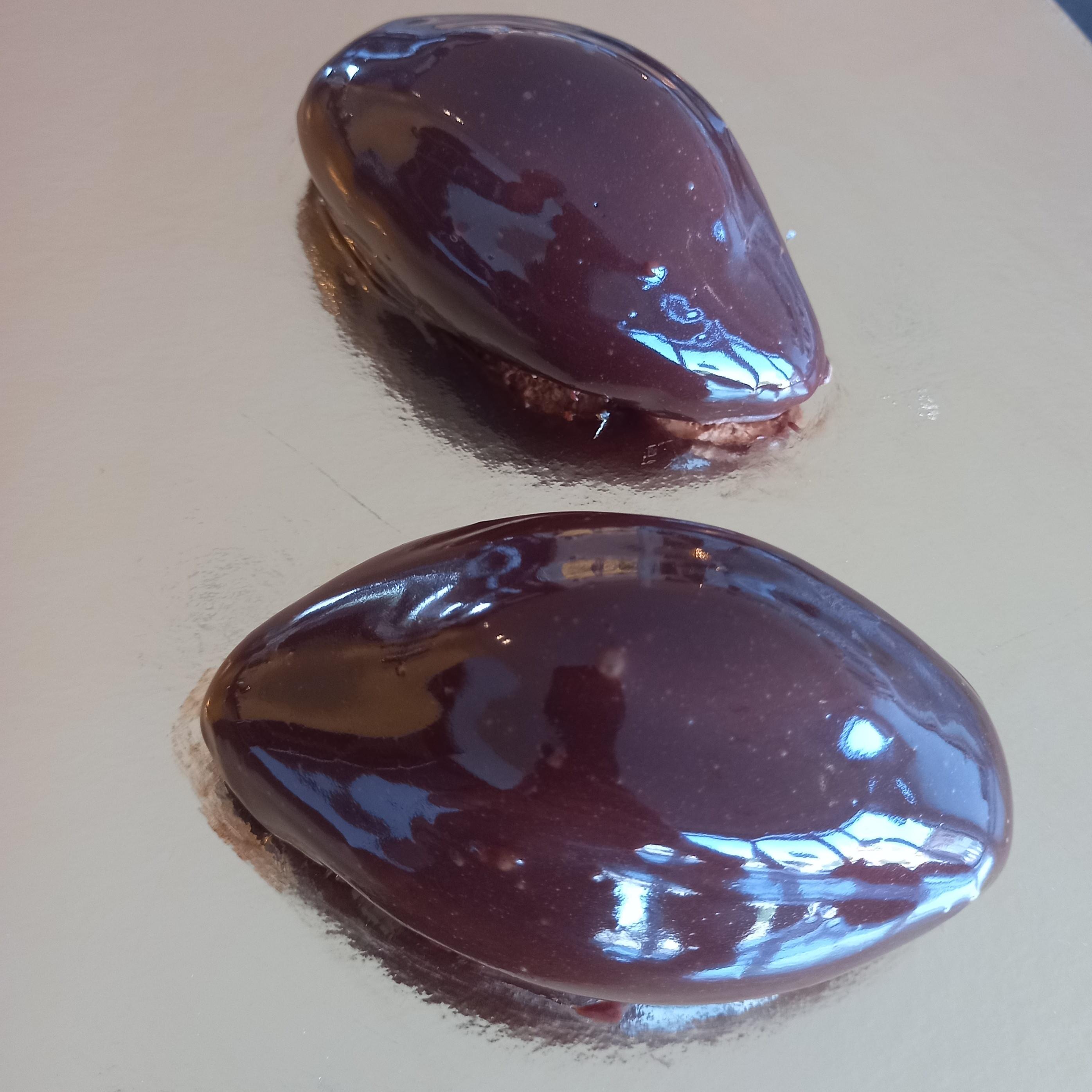 Les Cabosses Entremet trois chocolats 3H