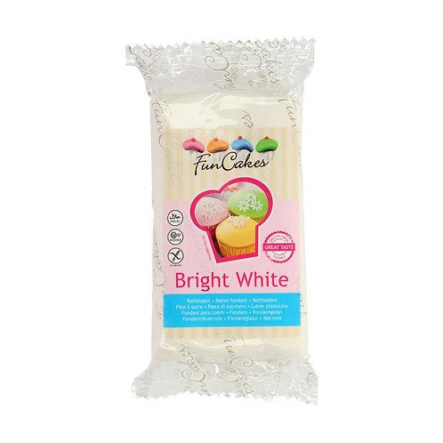 FUNCAKES PÂTE A SUCRE - BRIGHT WHITE - 250 g