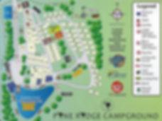 Pine Ridge Campground Park Map