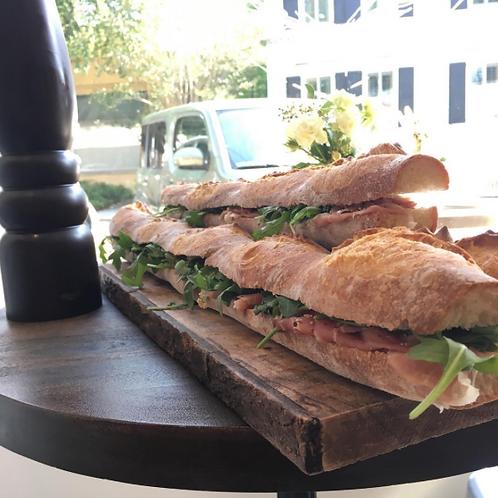 Custom Baguette Sandwich