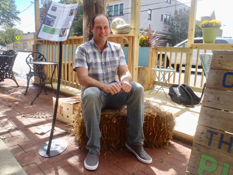 Certificate Student Turns Parking Spaces into Parklet